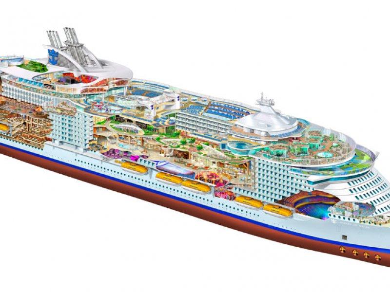 Royal Caribbean File Adventure Of The Seas Port Side